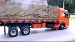 终于找到了大货车省胎的秘诀!