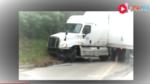 超长货车路上掉头,本以为是个老司机,没想到却悲剧了