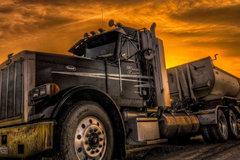 巨帅的外国大卡车 太漂亮啦