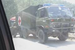 一大波中国军车突现尼泊尔 这是迂回包抄的战术?